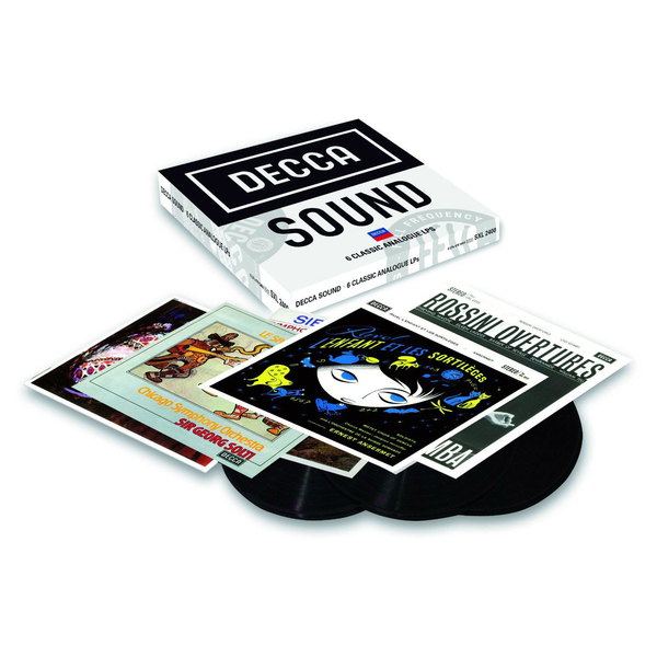 все цены на  VARIOUS ARTISTS VARIOUS ARTISTS - THE DECCA SOUND 2 (6 LP BOX)