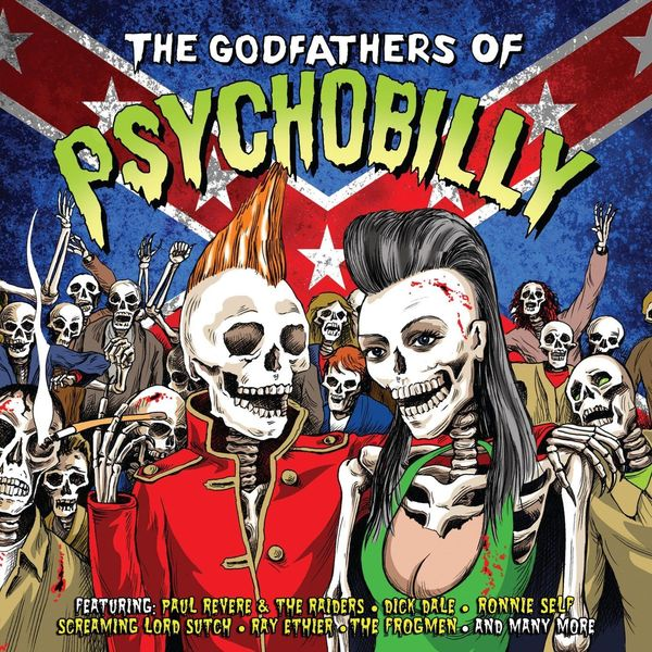Various Artists Various Artists - The Godfathers Of Psychobilly (2 Lp, 180 Gr) the black keys the black keys el camino 2 lp