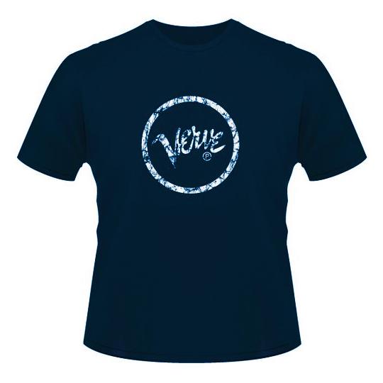 Футболка мужская Verve Records - Logo Navy (размер S)Футболка мужская<br><br>