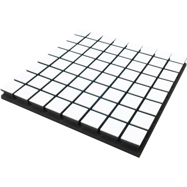 Панель для акустической обработки Vicoustic Flexi Wood A50 White (8 шт.) vicoustic wave wood white 10 шт