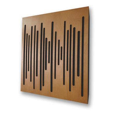 Панель для акустической обработки Vicoustic Wave Wood Light Brown (10 шт.)