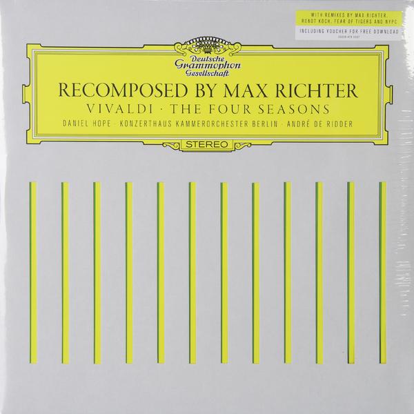 VIVALDI VIVALDI - THE FOUR SEASONS (2 LP) max richter – recomposed by max richter vivaldi the four seasons 2 lp