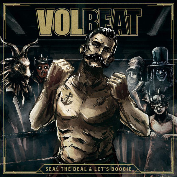 Volbeat Volbeat - Seal The Deal   Let's Boogie (2 LP) volbeat graz