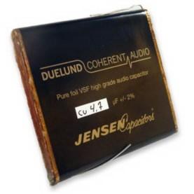 Конденсатор DuelundКонденсатор<br>Напряжение, В: 100; Размер, мм: 10 x 50 x 55; Ёмкость, мкФ: 1.5<br>