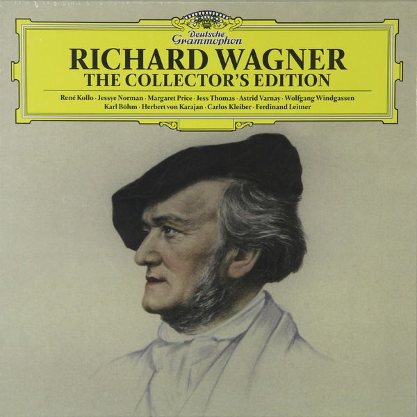 WAGNER WAGNER - WAGNER ON VINYL (6 LP)  сайдинг vinyl on 3660х230 мм серо голубой