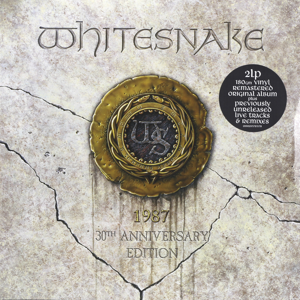 Whitesnake Whitesnake - 1987 (30th Anniversary) (2 LP) u2 u2 the joshua tree 2 lp 30 anniversary
