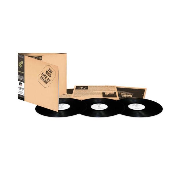 WHO WHO - Live At Leeds (3 LP) mastodon mastodon live at the aragon 2 lp dvd