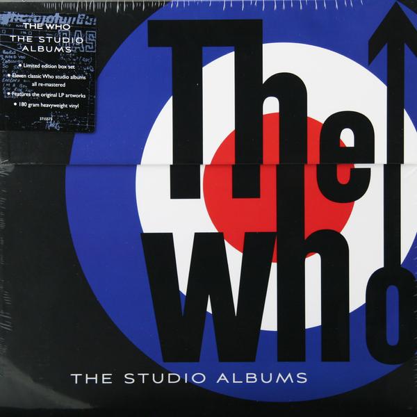 WHO WHO - The Studio Albums (14 LP) abba the studio albums 8 lp