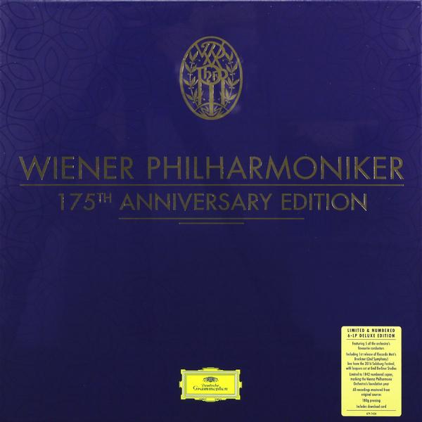 Wiener Philharmoniker Wiener Philharmoniker - Wiener Philharmoniker 175th Anniversary Edition (6 Lp Box) barenboim daniel wiener philharmoniker new year s concert 2009 blu ray