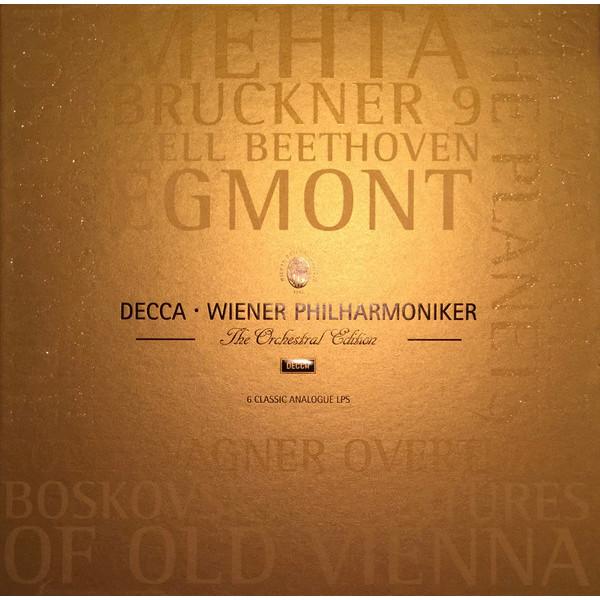 Wiener Philharmoniker Wiener Philharmoniker - Wiener Philharmoniker Edition (6 Lp Box) barenboim daniel wiener philharmoniker new year s concert 2009 blu ray