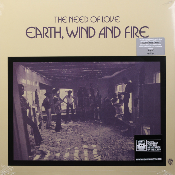 EARTH, WIND   FIRE EARTH, WIND   FIRE - THE NEED OF LOVE