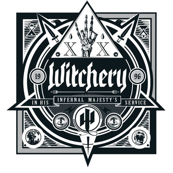 Witchery Witchery - In His Infernal Majesty's Service (180 Gr) guano apes guano apes proud like a god 180 gr colour