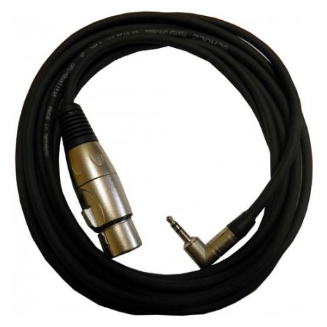 Кабель межблочный XLR-Jack Schulz Кабель межблочный XLR-miniJack  NDAT 1 m кабель jack jack schulz кабель minijack jack stmx 6 m