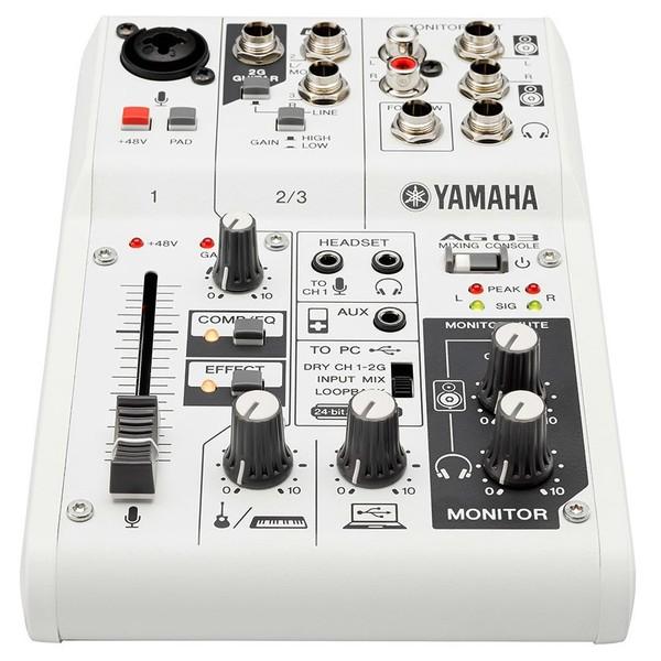 Аналоговый микшерный пульт Yamaha