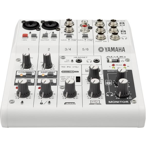 Аналоговый микшерный пульт Yamaha AG06