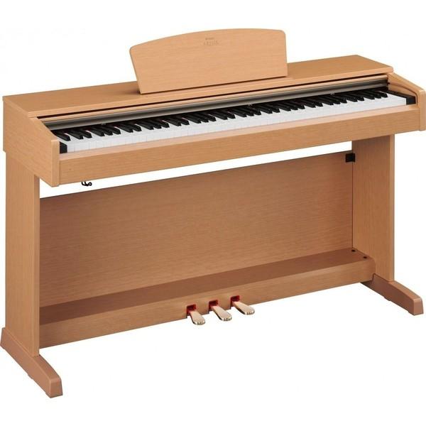 Цифровое пианино YamahaЦифровое пианино<br>88-клавишное цифровое фортепиано серии ARIUS с полноразмерными клавишами и послекасанием, а также молоточковой механикой Graded Hammer. Подходит как для занятий в музыкальной школе, так и для профессиональной деятельности.<br>