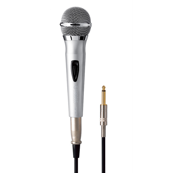 Вокальный микрофон YamahaВокальный микрофон<br>Динамический микрофон с суперкардиоидной характеристикой направленности разработан для использования в караоке, а также для трансляции бэк-вокала и выступлений в школах и на конференциях.<br>