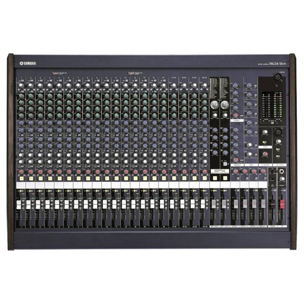 Аналоговый микшерный пульт YamahaАналоговый микшерный пульт<br>Профессиональный аналоговый микшер с DSP. Количество каналов16 мик/лин. входа, 4 стерео лин. входа , Insert I/O<br>