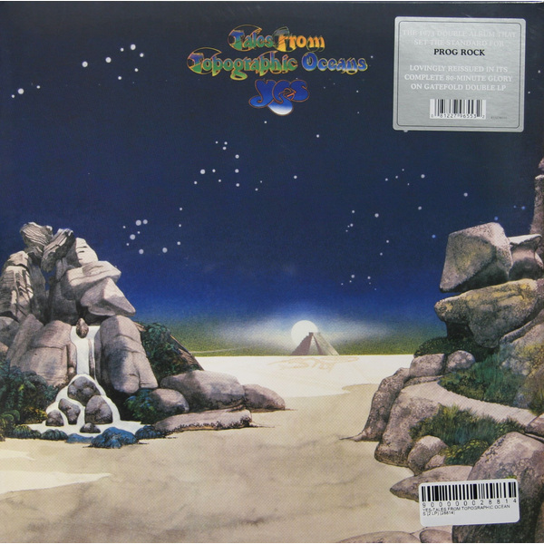 YES YES - Tales From Topographic Oceans (2 LP) yes – topographic drama live across america 3 lp