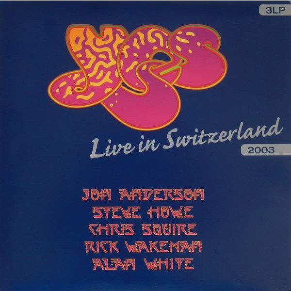 YES YES - Live In Switzerland (3 LP) blog