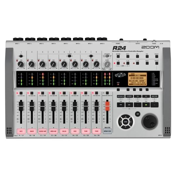 Портастудия ZoomПортастудия<br>Портативный многодорожечный рекордер, аудио интерфейс, контроллер и семплер<br>