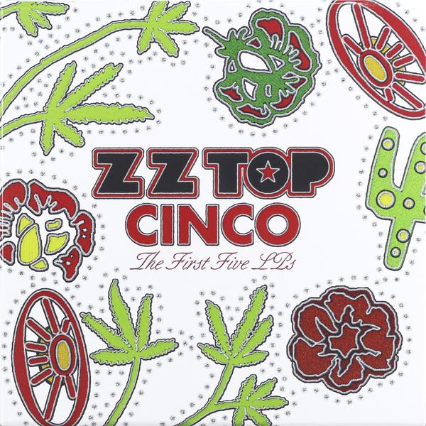Zz Top Zz Top - Cinco: The First Five Lp's (5 LP) zz top – fandango lp